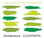 vintage label brush stroke... | Shutterstock .eps vector #1121976074