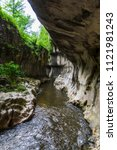 cheile banitei  romania | Shutterstock . vector #1121981243
