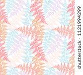 fern frond herbs  tropical... | Shutterstock .eps vector #1121994299