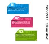 design elements. vector. | Shutterstock .eps vector #112200059