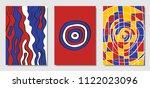 cover design templates set in... | Shutterstock .eps vector #1122023096