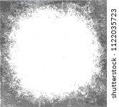 round grunge  black and white...   Shutterstock .eps vector #1122035723