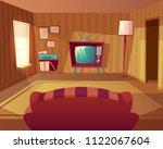 vector illustration of cartoon... | Shutterstock .eps vector #1122067604
