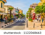 arcachon  france  may 15  2017  ... | Shutterstock . vector #1122068663