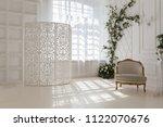 luxury delicate interior of... | Shutterstock . vector #1122070676