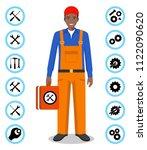 repair service concept....   Shutterstock .eps vector #1122090620
