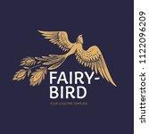 Vector Fire Bird Logotipe....