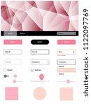 light pink vector material...