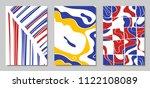 cover design templates set in...   Shutterstock .eps vector #1122108089