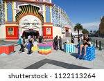 melbourne  australia  april 08  ...   Shutterstock . vector #1122113264