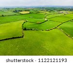 aerial view of endless lush... | Shutterstock . vector #1122121193