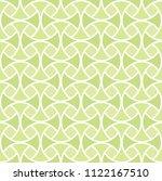 classic green art deco seamless ... | Shutterstock .eps vector #1122167510