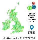 gear great britain and ireland... | Shutterstock .eps vector #1122177200
