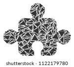 component collage of triangle...   Shutterstock .eps vector #1122179780