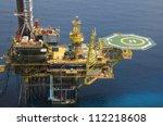 oil rig | Shutterstock . vector #112218608