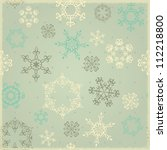 Seamless Winter Background With ...