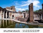 villa adriana  tivoli  italy    ...   Shutterstock . vector #1122222239