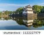 the wall and traditional... | Shutterstock . vector #1122227579