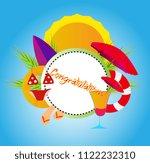 congratulations  vector... | Shutterstock .eps vector #1122232310