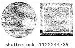 grunge texture set   Shutterstock .eps vector #1122244739