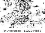 halftone texture black and white | Shutterstock .eps vector #1122244853