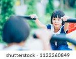 Happy Kids Playing Playground Playtime - Fine Art prints