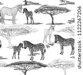 seamless pattern  background ... | Shutterstock .eps vector #1122267206