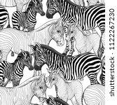 seamless pattern  background ... | Shutterstock .eps vector #1122267230