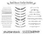 collection of beautiful... | Shutterstock .eps vector #1122268949