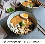 homemade japanese cuisine  ...   Shutterstock . vector #1122279368