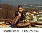 female fashion concept.... | Shutterstock . vector #1122293453