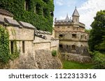 the grounds of lichtenstein...   Shutterstock . vector #1122313316