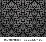 flower geometric pattern.... | Shutterstock . vector #1122327410