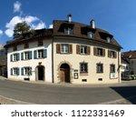 maienfeld  gr   switzerland  ... | Shutterstock . vector #1122331469