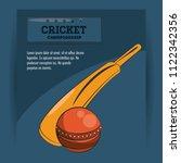 cricket championship game | Shutterstock .eps vector #1122342356
