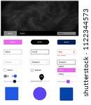 light pink  blue vector...