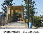 sixaola  costa rica march 18 ... | Shutterstock . vector #1122353033