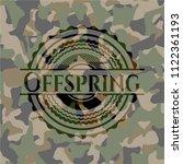 offspring on camo pattern   Shutterstock .eps vector #1122361193