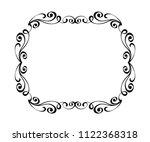 elegant frame.vector... | Shutterstock .eps vector #1122368318