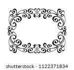 vector retro frames .vector... | Shutterstock .eps vector #1122371834