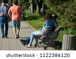 lutsk  ukraine  june 16  2018 ... | Shutterstock . vector #1122386120