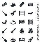 set of vector isolated black...   Shutterstock .eps vector #1122410246