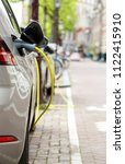 new innovative electric hybrid... | Shutterstock . vector #1122415910