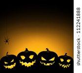 Halloween Pumpkin Background  ...