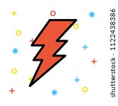 power current volt  | Shutterstock .eps vector #1122438386