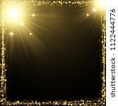 eps 10 luxury square frame... | Shutterstock .eps vector #1122444776