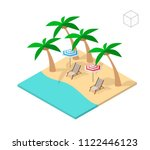 isometric high quality city... | Shutterstock .eps vector #1122446123