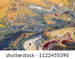 color flow from washing in the...   Shutterstock . vector #1122455390