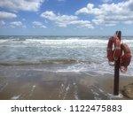 beach on the adriatic sea in... | Shutterstock . vector #1122475883