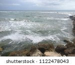 coast of the adriatic sea on a... | Shutterstock . vector #1122478043